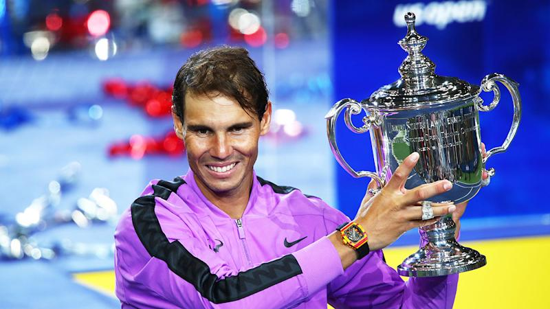 Rafael Nadal's marriage caps off a remarkable year for the World No.2. Pic: Getty