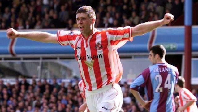<p>The towering striker is best-known for his 'big man, little man' double act with Kevin Phillips at Sunderland.</p> <br><p>Niall Quinn also spent time with Manchester City in the Premier League, and began his career in the UK at Arsenal in the 1980s.</p> <br><p>After hanging up his boots in 2003, Quinn has worked as a coach and chairman at the Black Cats and also as a TV pundit.</p>