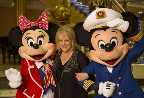 I didn't even know Nancy Grace was there. (Getty Images)