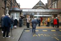 FILE PHOTO: COVID-19 vaccinations in London