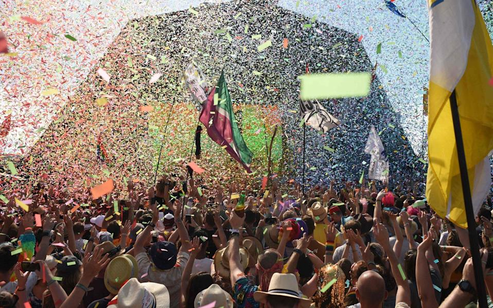 This year you'll find more peace on Worthy Farm than usual during Glastonbury Festival - OLI SCARFF/AFP