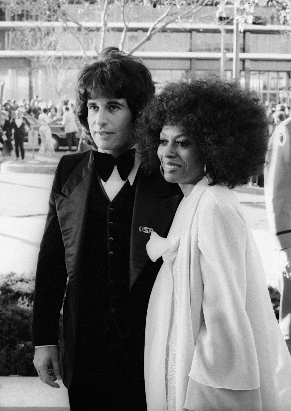 <p>After six years of marriage, Diana Ross and Robert Ellis Silberstein filed for divorce in 1977.</p>