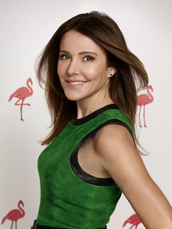 "Christa Miller stars as Ellie  in ""Cougar Town."""