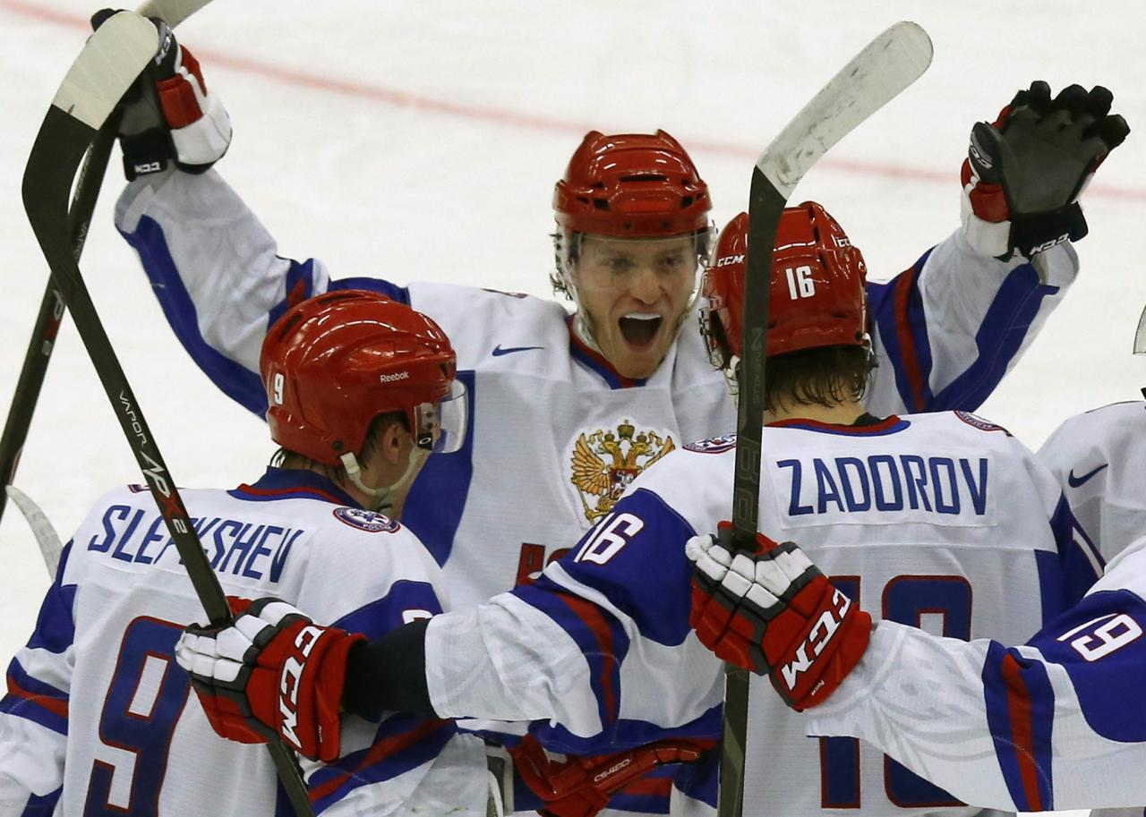World junior hockey championship: Russia defeats USA