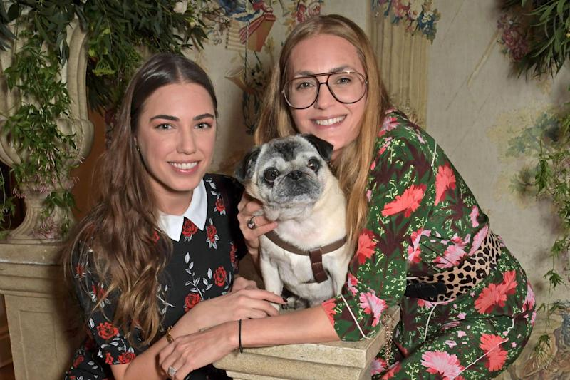 PUG PALS: Amber and Yasmin Le Bon (Dave Benett/Getty Images)