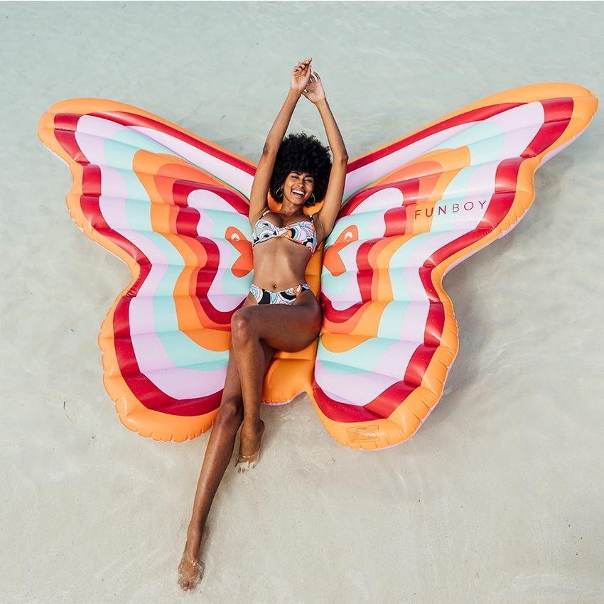 <p>This <span>Funboy Inflatable Butterfly Pool Float</span> ($119) looks so fun.</p>