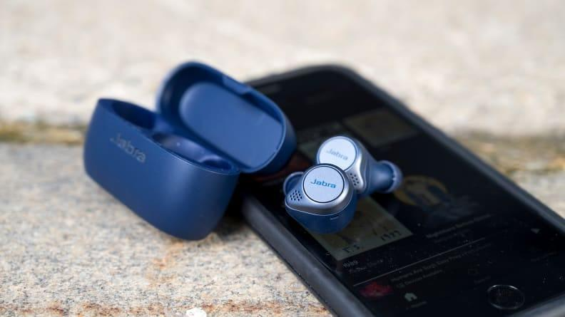 The Jabra Elite Active 75t are our top pick for workout headphones—and they're on sale right now.
