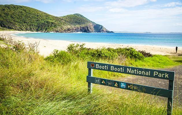 Booti Booti National Park is a national park north-north-east of Sydney. Source: Destination NSW