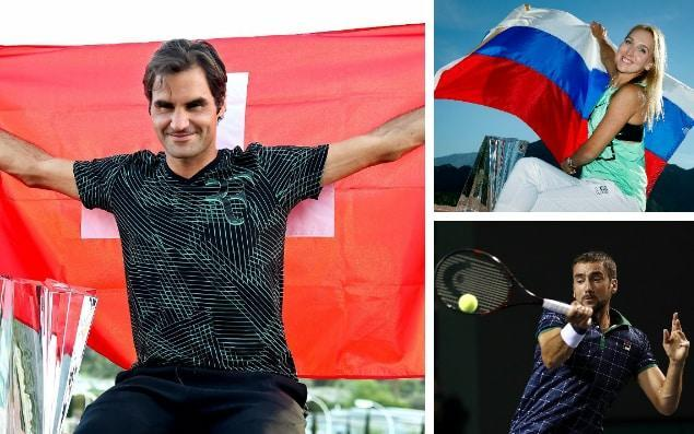 Roger Federer is one of the biggest climbers in the men's rankings