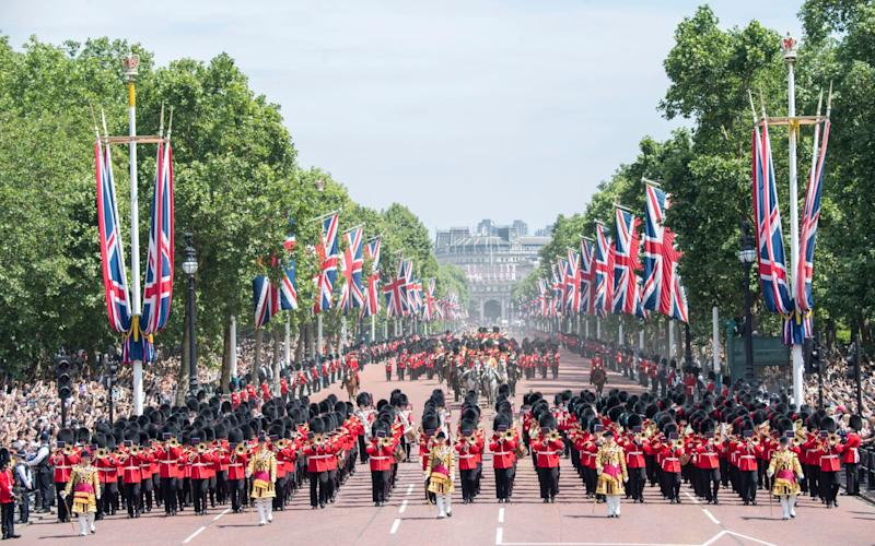 Trooping the Colour 2018 - Paul Grover for the Telegraph
