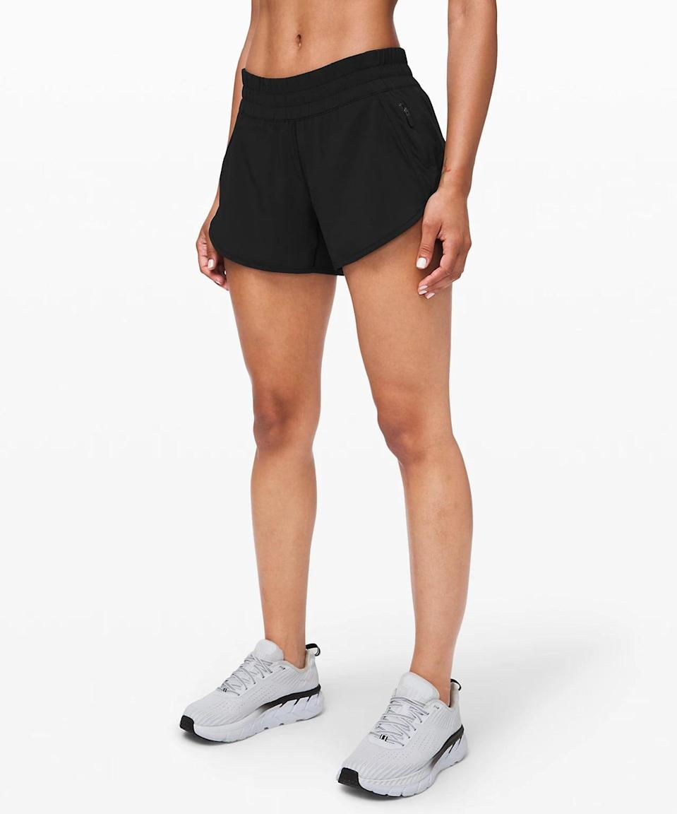 <p>If you like a looser short, go with the <span>Lululemon Tracker Short</span> ($58).</p>