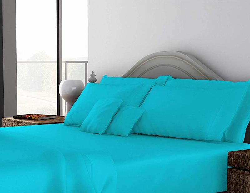 600 Thread Count 100% Egyptian Cotton Pillow Shams. (Photo: Amazon)