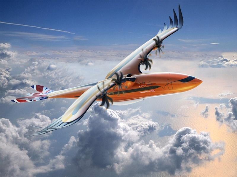 Airbus designed a plane prototype to look like a 'bird of prey' – take a look