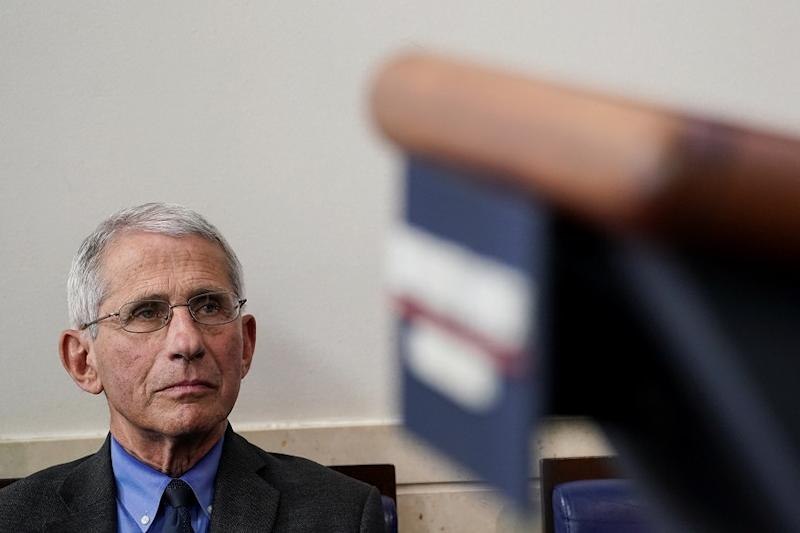 Top US Doctor Fauci Cautiously Optimistic Over Covid-19 Vaccine Development by Early 2021