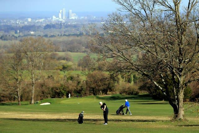 Golfing in Guildford