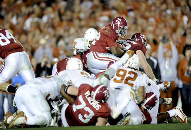 Alabama beat Texas on Jan. 7, 2010. (Getty)
