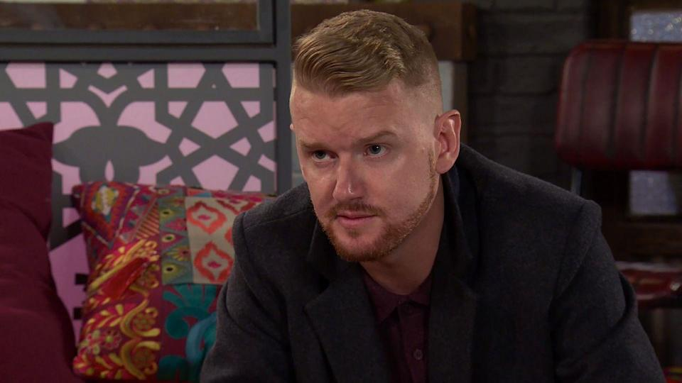 <p>When Maria points out that she could buy the barber shop with the money, how will Gary react?</p>