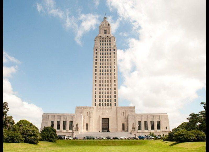 <strong>LOUISIANA STATE CAPITOL</strong> Baton Rouge, Louisiana <strong>Year completed: </strong>1932 <strong>Architectural style:</strong> Art Deco <strong>FYI: </strong>You approach the capitol via a grand, 48-step staircase—one stair for every state in the union (with an amendment for Alaska and Hawaii). But don't let that be the highest you get on your visit. The Louisiana State Capitol has an observation deck on its 27th floor, 350 feet above ground. (It is the tallest state capitol building, after all.) <strong>Visit:</strong> The building is open from 9 a.m. 4 p.m. daily, except for major holidays.