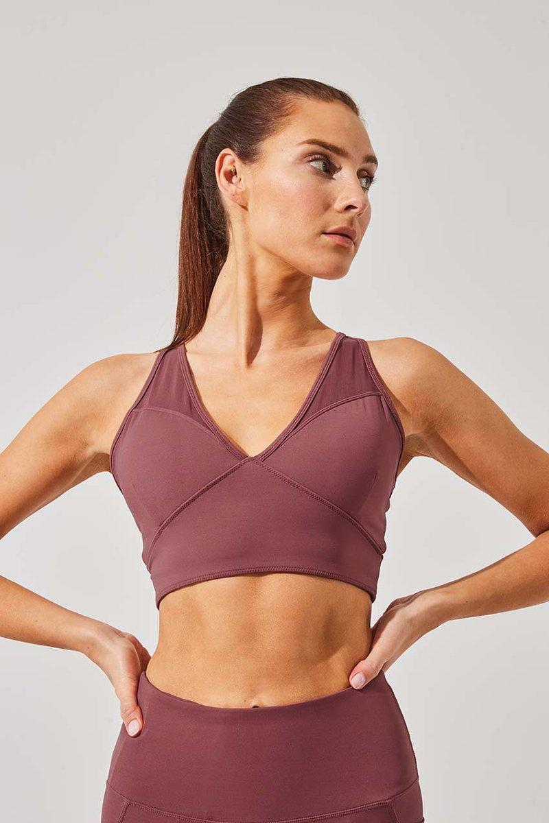 Echo Recycled Nylon Light Support Bra. Image via MPG Sport.