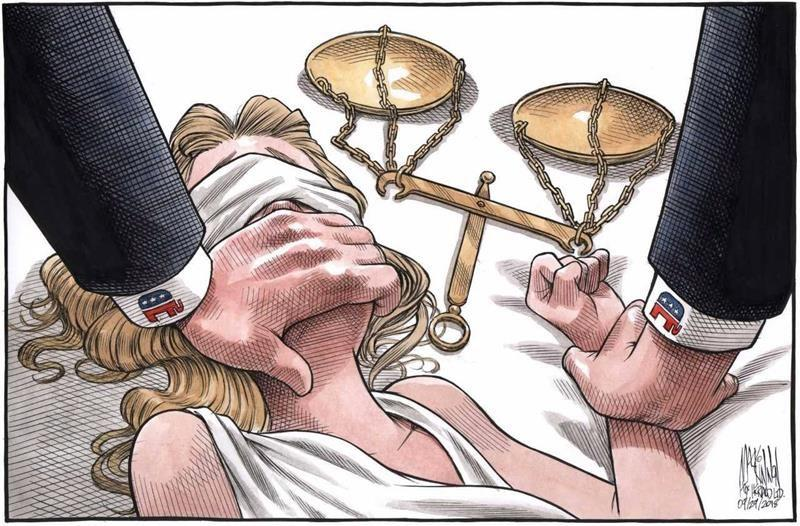 Halifax artist's cartoon in response to Kavanaugh hearing grips internet