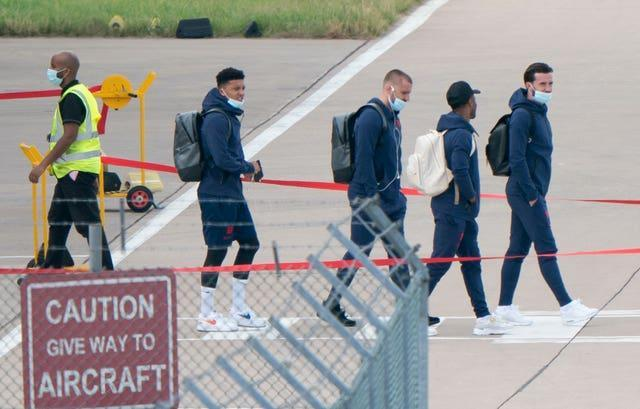 England have had to travel for the first time in the tournament