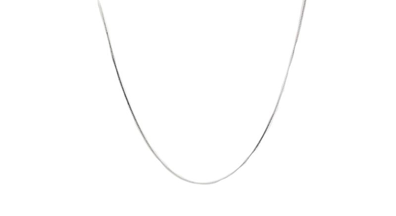ASOS DESIGN sterling silver chain
