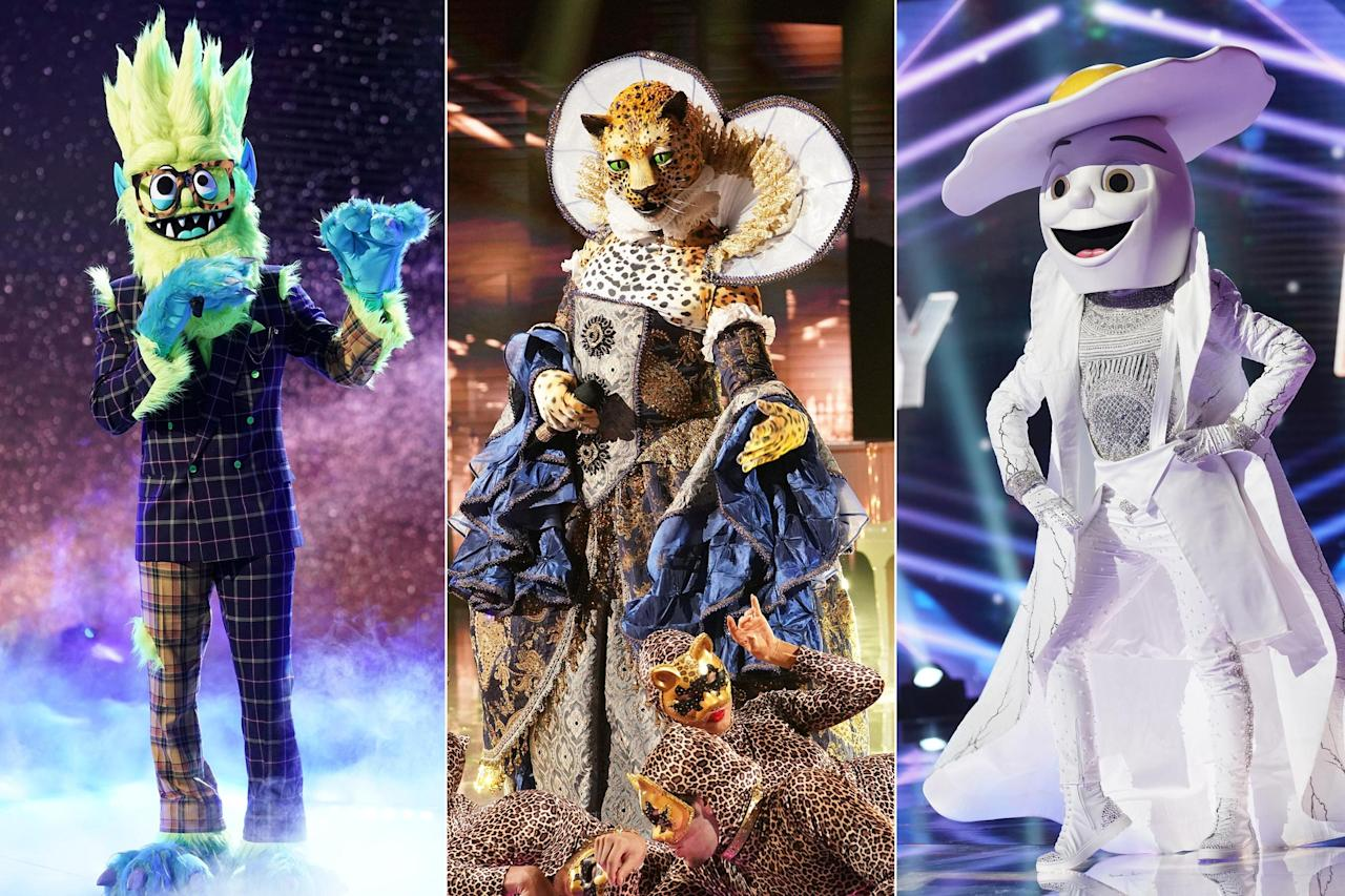 "<a href=""https://ew.com/creative-work/masked-singer/""><em>The Masked Singer</em></a> is back for another season, and <a href=""https://ew.com/tv/2019/09/25/the-masked-singer-revealed-egg-celebrity-premiere-recap/"">it's just as wild as ever</a>. Scroll through to see which celebrities have been revealed so far, and check back for updates each week."
