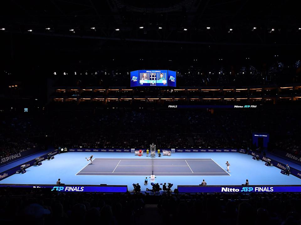 <p>The O2 Arena is hosting the ATP Finals for the final time before the tournament moves elsewhere</p> (Getty Images)