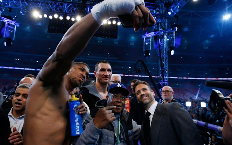 Anthony Joshua can expect an invite to a house party very soon - REUTERS