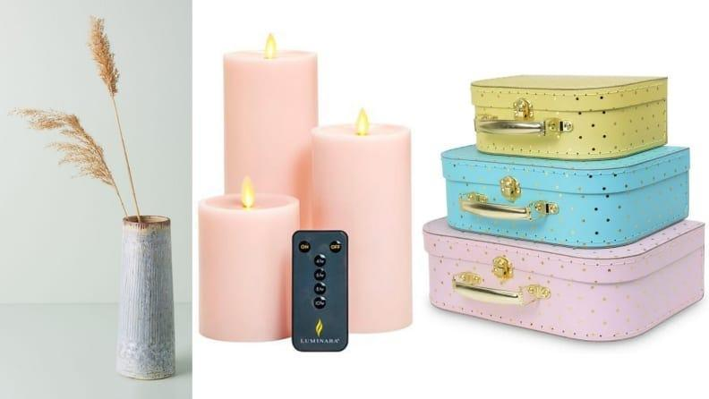A pop of pastel softens the entire room—and as a result, your mood.