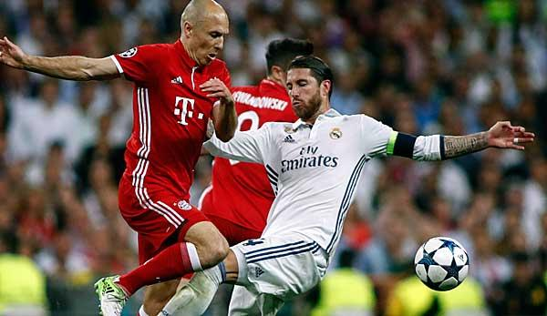 Champions League: Bayern - Real, Champions-League-Hinspiel: Datum, TV, Livestream