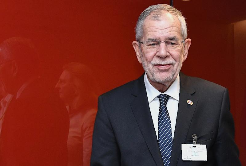 """""""We must see history as an example of where the politics of scapegoating, incitement, and exclusion can lead,"""" Austrian President Alexander Van der Bellen"""