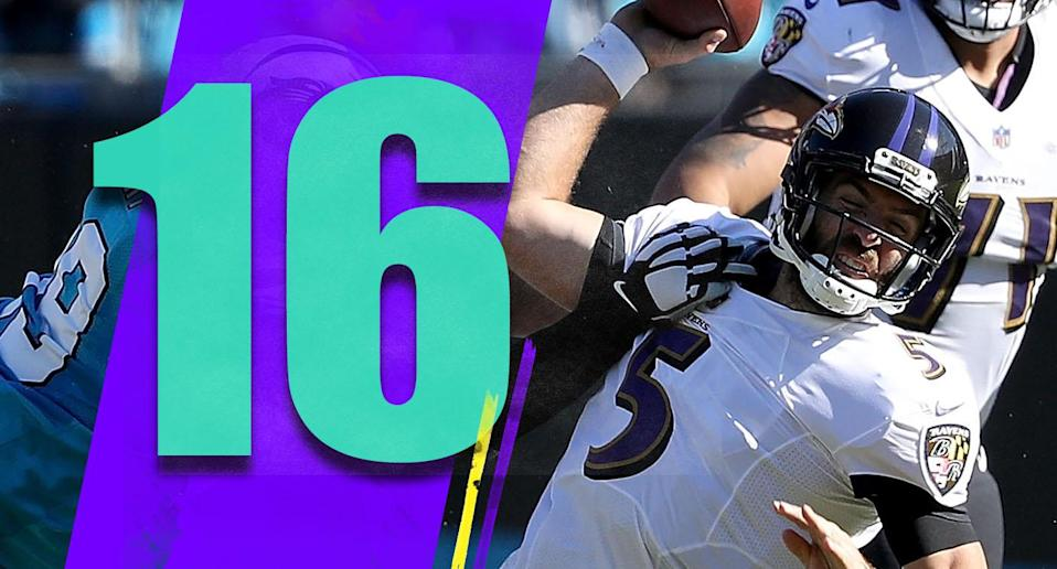<p>The home game against the Steelers this week seems like a huge turning point in their season. It might not be a classic Steelers-Ravens showdown, but there's a lot at stake. (Joe Flacco) </p>