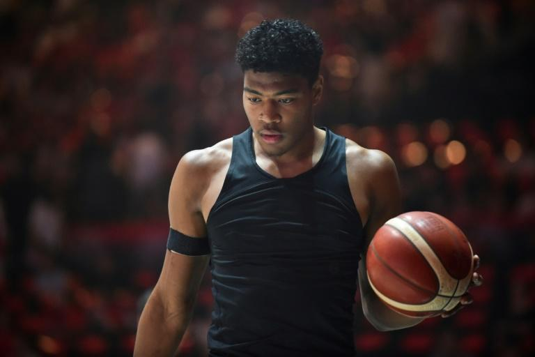Japan's Rui Hachimura is set to star at the basketball World Cup. (AFP Photo/Kazuhiro NOGI)