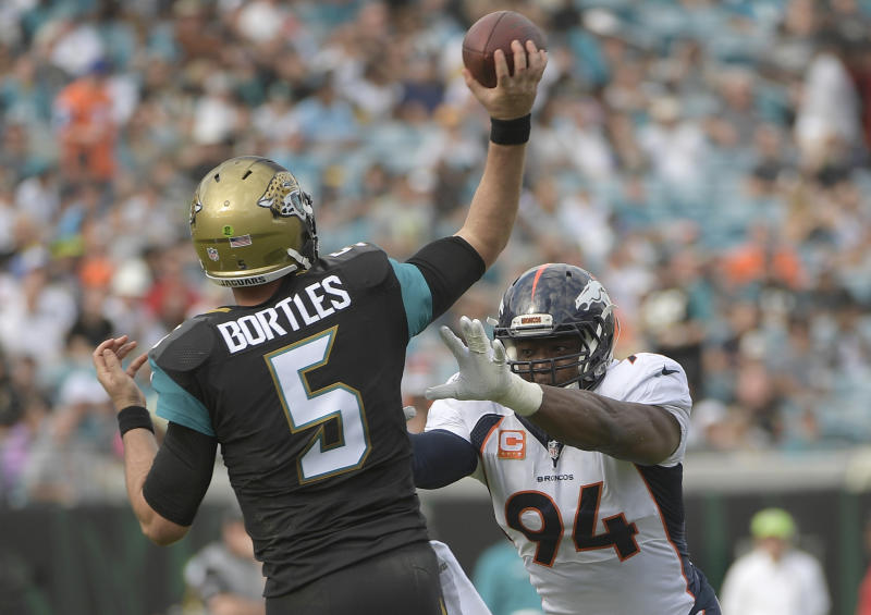 Broncos expected to sign free agent QB Blake Bortles
