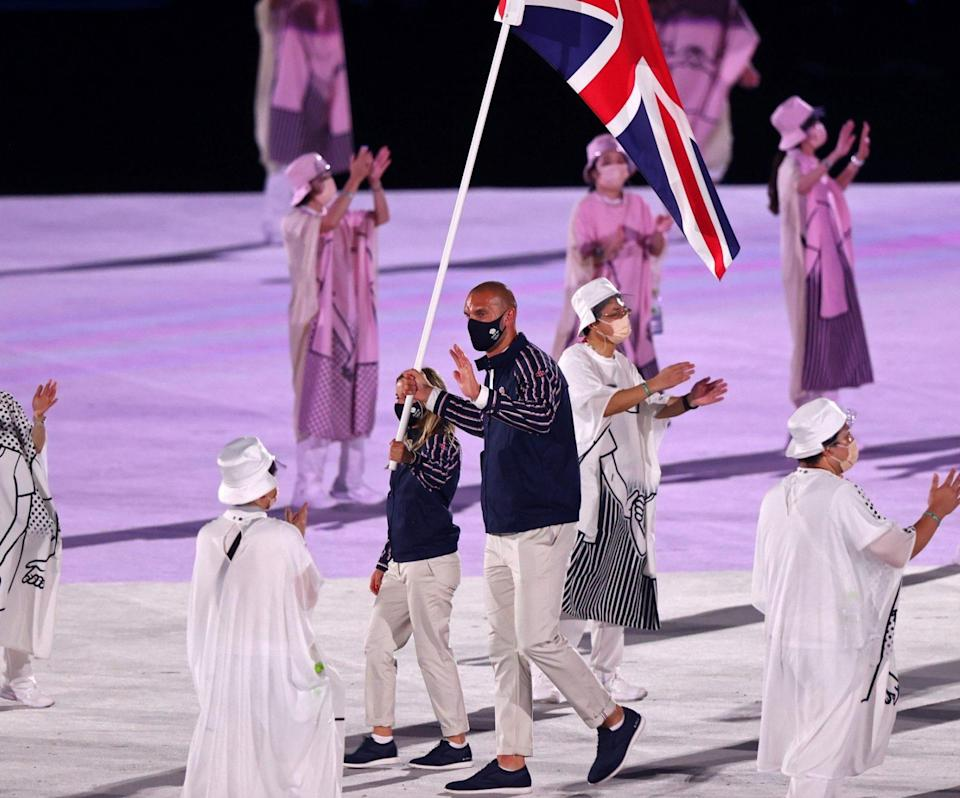 Hannah Mills and Mohamed Sbihi of Team GB - Clive Rose/Getty Images