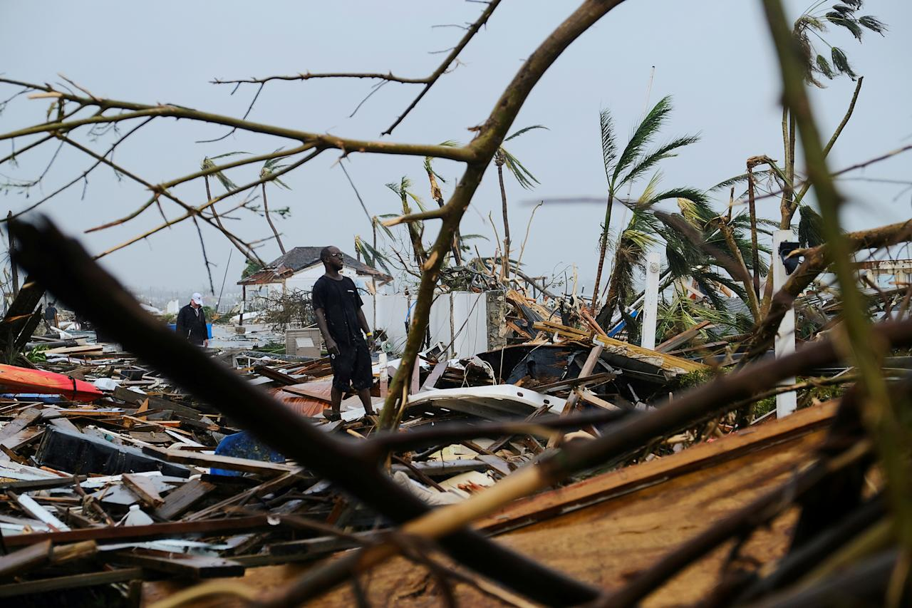 Damage in the aftermath of Hurricane Dorian on the Great Abaco island REUTERS/Dante Carrer TPX IMAGES OF THE DAY