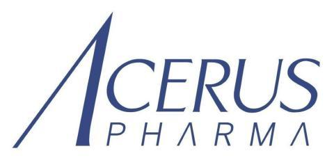 Acerus to Report Second Quarter 2020 Financial Results and Host Investor Conference Call