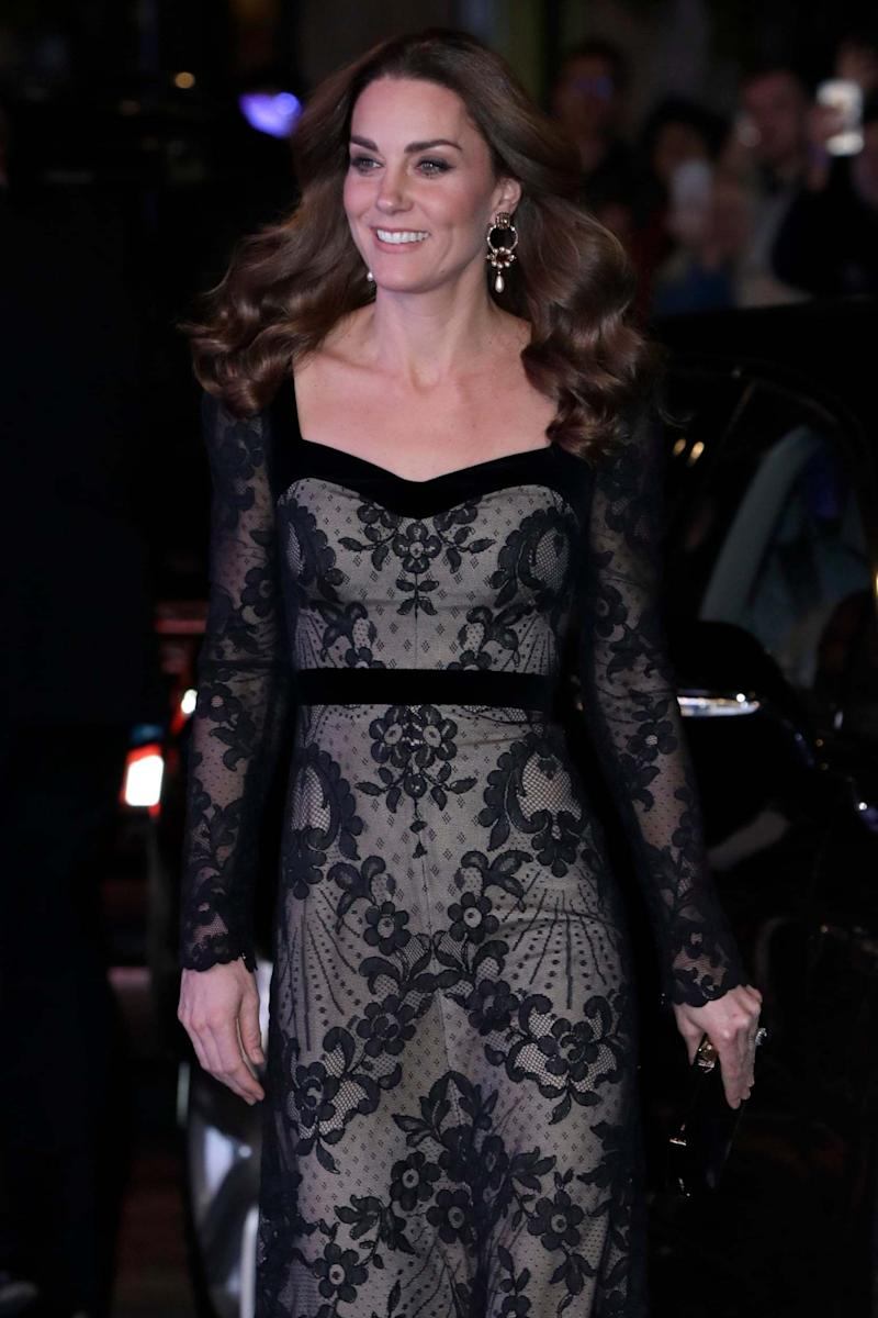 Kate at the Royal Variety Performance (Getty Images)
