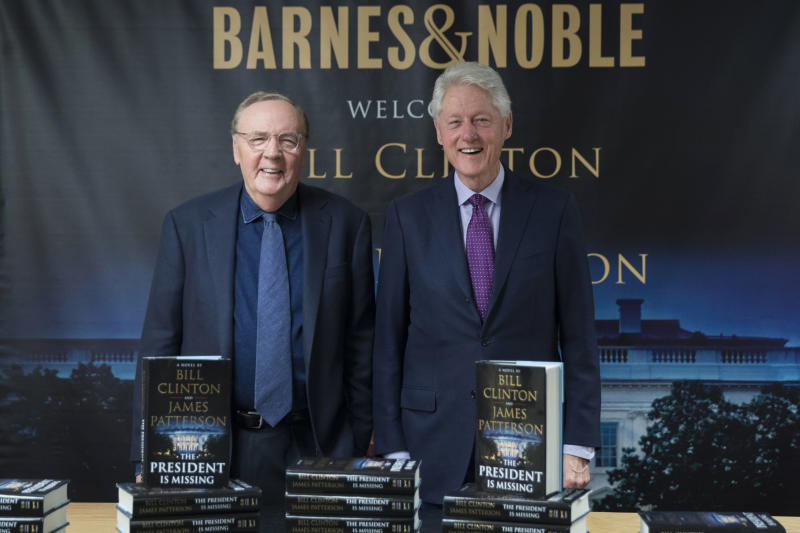 Clinton-Patterson novel sells 250,000 copies its first week