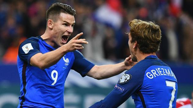 WATCH: Griezmann hasn't reached Zlatan's level yet - Kevin Gameiro