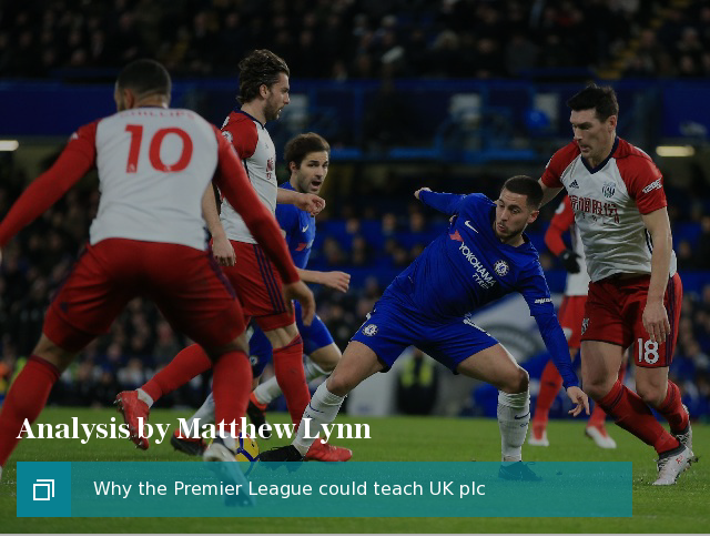 Why the Premier League could teach UK plc a trick or two