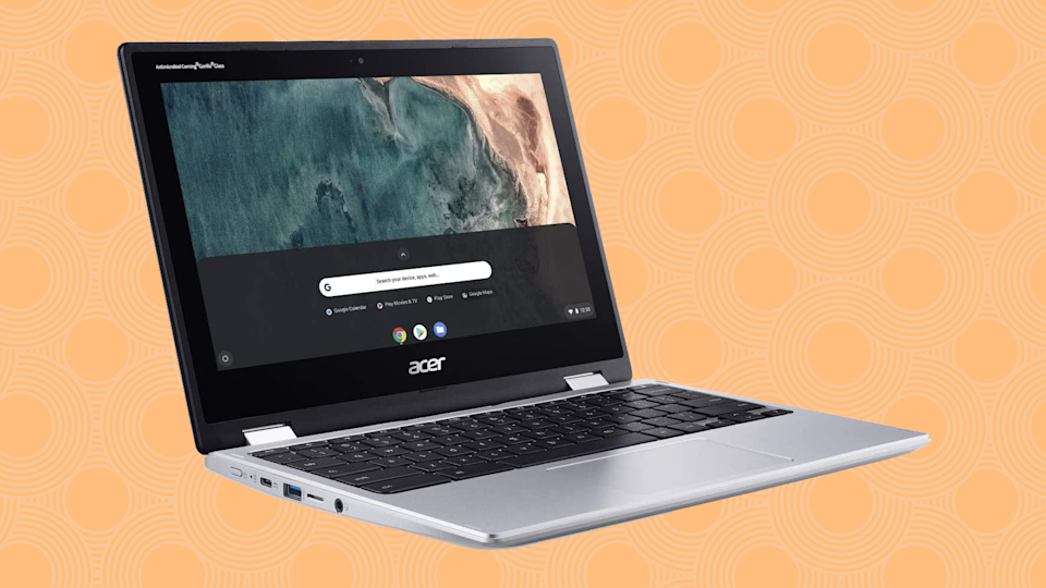 Save $175: The 360-degree hinge lets this laptop turn into a tablet. (Photo: Amazon)