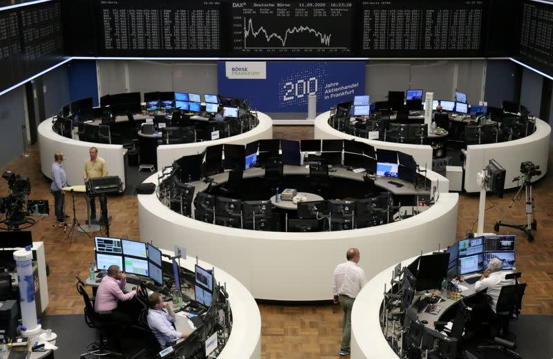 Travel, tech stocks prop up Europe, energy sector takes a hit