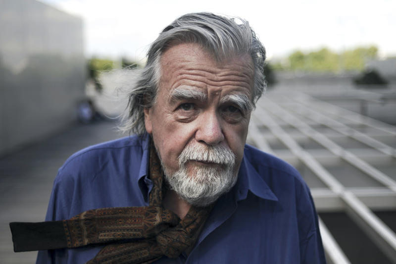 This photo taken on July 6, 2011 shows French actor Michael Lonsdale posing during the Paris Cinema Festival in Paris. - French actor Michael Lonsdale has died at the age of 89, his agent announced on September 21, 2020. (Photo by Fred DUFOUR / AFP) (Photo by FRED DUFOUR/AFP via Getty Images)