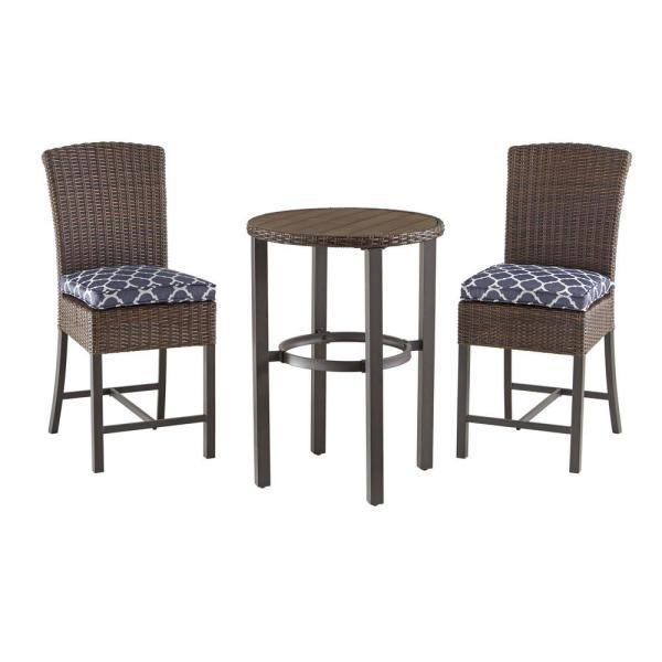 Hampton Bay 3-Piece Outdoor Patio Dining Set ('Multiple' Murder Victims Found in Calif. Home / 'Multiple' Murder Victims Found in Calif. Home)