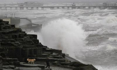 Gale-Force Gusts And Flooding Batter UK