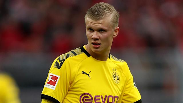 The Norway international has opened up on his move to Borussia Dortmund and weighed in on reports that the Red Devils balked at his pay packet
