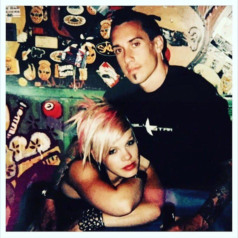 """<p>The singer recently welcomed a son, Jameson, with hubby Carey Hart, and was feeling nostalgic about their long and mostly sweet romance. Along with a throwback from their early days together, she gushed, """"My sweet sweet valentine. I've been loving you for so long I don't remember what it's like not to."""" Swoon. (Photo: <a rel=""""nofollow noopener"""" href=""""https://www.instagram.com/p/BQf79GBgEkW/?hl=en"""" target=""""_blank"""" data-ylk=""""slk:Instagram"""" class=""""link rapid-noclick-resp"""">Instagram</a>) </p>"""