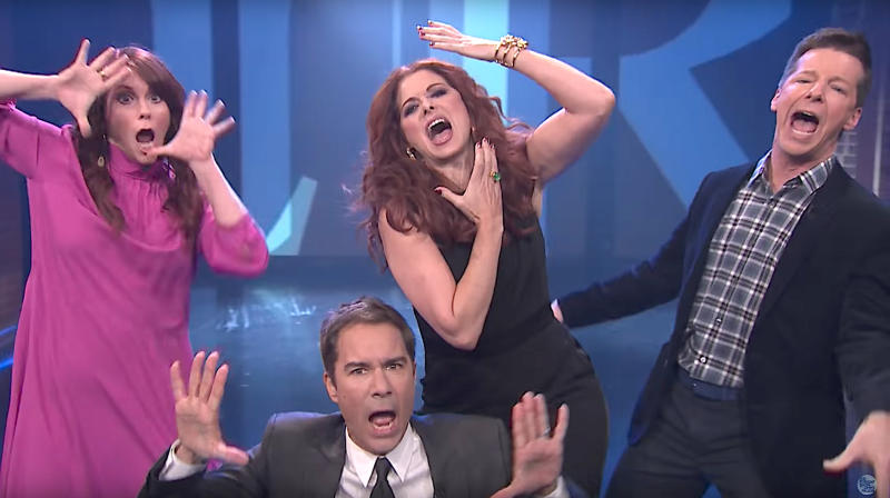 'Will & Grace' Stars Perform Show's Theme Tune With Lyrics For First Time